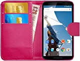 Best Nexus 6 Cases - Nexus 6 Case, GizzmoHeaven Leather Wallet Case [Slim Review