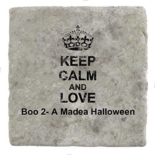 oo 2-Eine Madea Halloween–Marble Tile Drink Untersetzer (Boo Halloween-film)