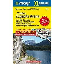 Tiroler Zugspitz Arena XL - Ehrwald - Lermoos - Biberwier - Lähn/Wengle - Bichlbach - Berwang - Heiterwang - Plansee - Namlos: Wander-, Rad- und ... GPS-genau. 1:25000 (Mayr Wanderkarten)