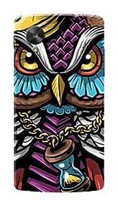 HACHI Premium Printed Cool Case Mobile Cover for LG Nexus 5