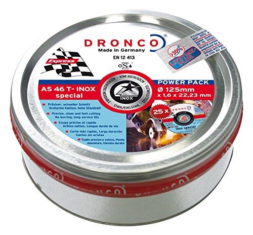 Dronco AS46TINOX-125-ACKPL.25-L.LifeT.Plus 25-125