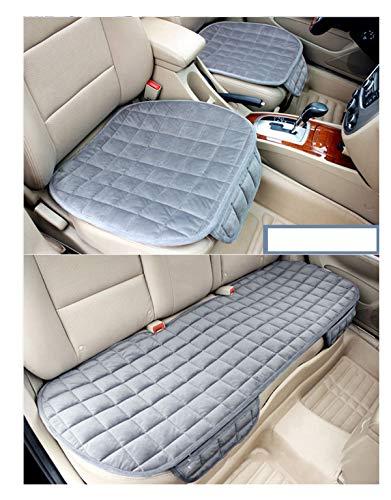 HotYou Auto Sitzkissen Kissen - Bambuskohle Atmungsaktiv Auto Sitzkissen Kissen,Grau,Vordersitz * 1 Pic