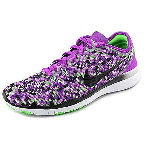 Nike Free 5.0 Damen US 7.5 Lila Laufschuh