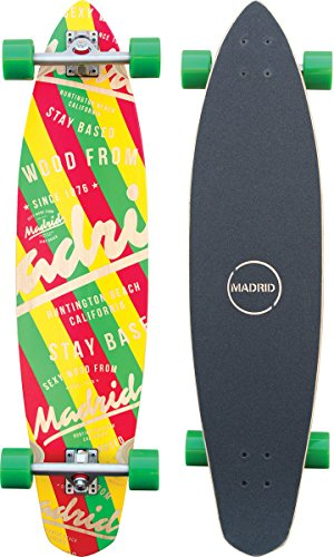 "Madrid Dude 38.75"" Based Longboard, One Size"