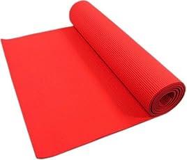 Quick Shel QS-N29M30O Yoga Mat, 6mm (Red)