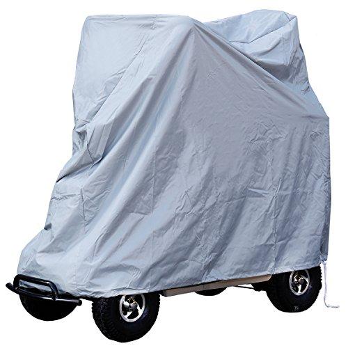 Rolektro Spezial Abdeckplane Abdeckhülle Garage für elektrische Krankenfahrstühle Rolektro eco Mobil 15 oder bauähnliche Rollstühle Elektromobil 130x50x110 LxBxH aus Polyester Oxford 600 D