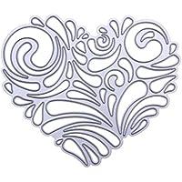 DIPOLA Stencil Deco Fondo Manuscrito Nueva tarjeta de papel de Scrapbooking DIY Scrapbooking Álbum de Snowflake