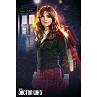 Empire Merchandising 663 436 Doctor Who, Clara, serie Locandina cinematografica Cinema TV Movie, dimensioni 61 x 91.5