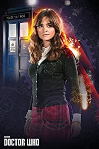 Empire Merchandising 663 436 Doctor Who, Clara, serie Locandina cinematografica Cinema TV Movie, dimensioni 61 x 91.5 cm