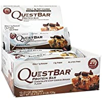 Quest Nutrition Quest Bar Protein - 12 x 60 gr Chocolate Chip Cookie Dough