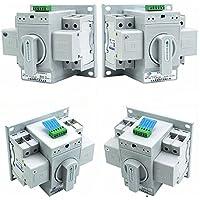 Interruptor de transferencia autom/ático 4PF Tipo de aislamiento Interruptor de transferenci 4P ATS ZGQ5-100 4P Interruptor de cambio autom/ático 100A interruptor de transferencia autom/ático 100A