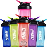 ProElite V3 Mixable Protein Shaker Bottle, 600 ml, Pink