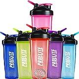 ProElite V3 Mixable Protein Shaker Bottle, 600 ml, Pink
