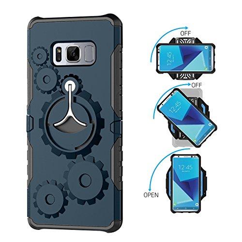 casefirst Advanced Samsung Galaxy S Lite Luxury Edition Samsung Galaxy S8 Case with Durable Protective Case and Durable Protective Case Interior Shell case cover for Samsung Galaxy S Lite Luxury Edition Samsung Galaxy S8 -Dark Blue