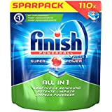 Finish All in 1, Spülmaschinentabs, Sparpack, 110 Tabs