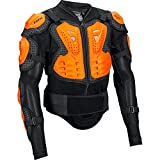 Fox Titan Sport Protector Jacket Men Black/Orange 2018 Protektor