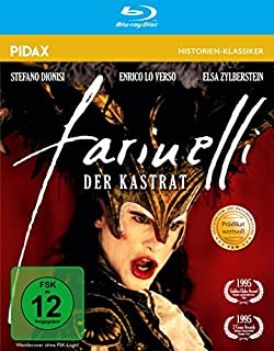 Farinelli, der Kastrat / Preisgekrönter Film über den Megastar des Barock (Pidax Historien-Klassiker) [Blu-ray]