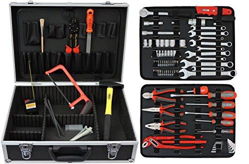 Famex 759-65 Werkzeugkoffer mit Werkzeugbestückung, 125-teilig - 2
