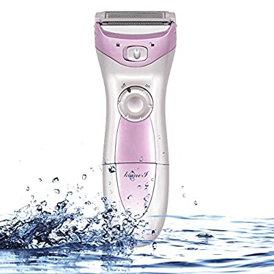 Viitop.eu Ladies Electric Shaver, 3-Blade Cordless Women's Electric Razor with Pop-Up Trimmer, Women Rechargeable Shaving Epilator Razor Female Facial Body Epilators Smooth Hair Away Hairs Removal, Use Wet or Dry