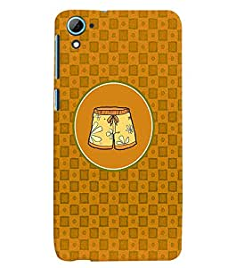 PRINTVISA Abstract Shorts Case Cover for HTC Desire 826