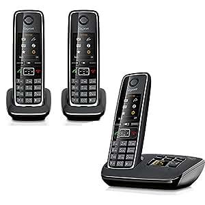 Gigaset C530A TRIO Téléphone répondeur sans fil Siemens