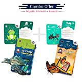 #8: Aquatic Life + Insects | Age 3-10 Years | Ideal Return Gift for Boys & Girls | Augmented and Virtual Reality Based Learning Toy | Combo Offer of 2