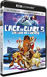 L'Age de glace 5 : Les lois de l'univers [4K Ultra HD + Blu-ray + Digital HD]