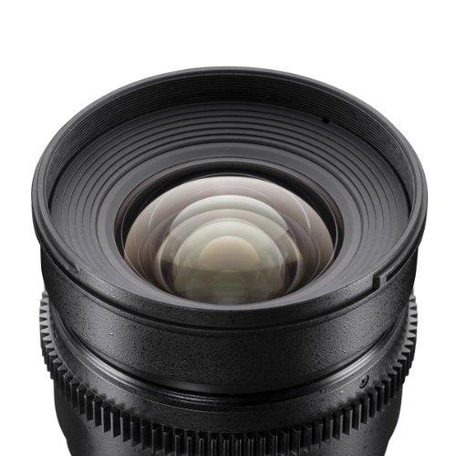 Bild 2: Walimex Pro 16mm 1:2,2 VDSLR Video und Foto Weitwinkelobjektiv für Canon EF-S Objektivbajonett schwarz (manueller Fokus, für APS-C Sensor gerechnet, Filterdurchmesser 77mm)