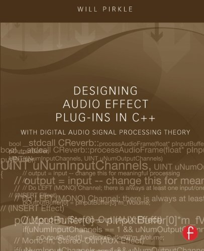 Pdf Download Designing Audio Effect Plug Ins In C By Will