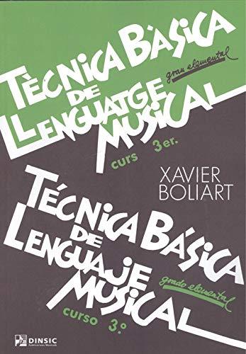 Tecnica basica de lenguaje musical 3: Grado elemental por Xavier Boliart epub