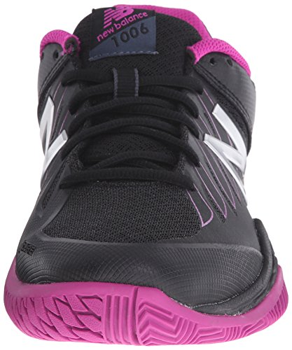 New Balance Women's WC1006v1 Black/Pink 10 B - Medium Black/pink