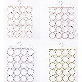caolator multifunción percha porta corbatas porte-écharpes con 20agujeros para toalla pañuelo color aleatorio