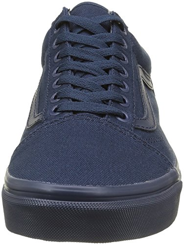 Vans Unisex-Erwachsene Old Skool Reissue Sneakers Blau ((mlx) Mono Dress Blues)