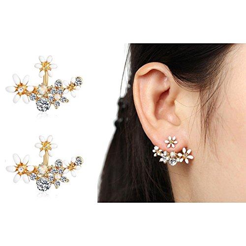 Shining Diva Fashion Jewellery Stylish Fancy Party Wear Tops Studs Traditional Earrings For Women & Girls