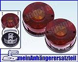 DDR Rückleuchten Rücklichter Set für DDR Anhänger & IFA Fahrzeuge HW60 HW80 W50