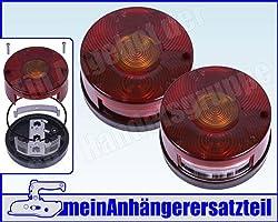 f/ür DDR Anh/änger-R/ückleuchte mit KZL Lichtscheibe von The Drive