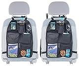 PEARL Auto Rücksitz Organizer: 2er-Set Kfz-Rückenlehnen-Organizer für Spielzeug & Co, Alle Fahrzeuge (Autorücksitztaschen)