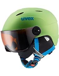 Uvex Kinder Junior Visor Pro Skihelm
