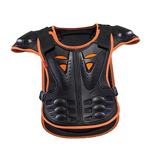 IPOTCH 1 Stück Kinder Rüstung Weste für 4-12 Jahre alte Kinder Skateboard, Skifahren, Riemenscheibe, Motorradsport