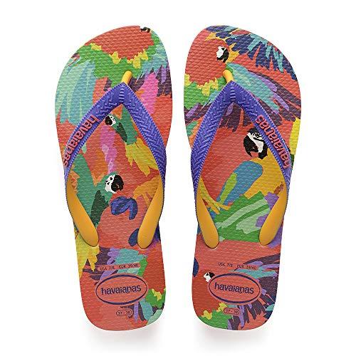 Havaianas Top Fashion, Infradito Donna, Multicolore (Flamingo 0579), 35/36 EU (33/34 BR)