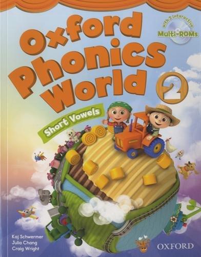 Oxford Phonics World 2 : Short Vowels (2Cédérom) par Julia Chang