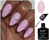 BLUESKY A89Pinky Light Pink Nagellack-Gel UV-LED-Soak Off 10ml plus 2LuvliNail Shine Tücher
