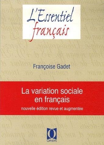 La variation sociale en français