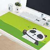 @A Office Mauspads Gaming Mauspads Super Große Mauspad Klebepad Computer Tastatur Schreibtisch Große Tischset, Panda, 40X90