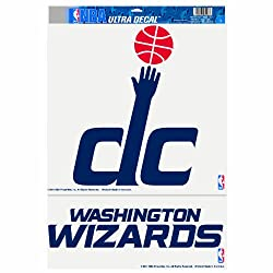 NBA Washington Wizards 11-by-17 Inch Ultra Decal Set (2 designs)