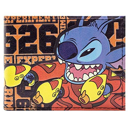 Lilo & Stitch Experiment 626 Orange Portemonnaie Geldbörse