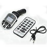 QUMOX Voiture Bluetooth Kit de Transmetteur FM USB SD Lecteur MP3 Modulator Fernbedienung NOUVEAU