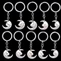 Aunt I Love you to the moon and back Key Ring Keyring Xmas Gift Silver : everything five pounds (or less!)