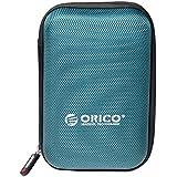 """ORICO Housse pour Disque Dur Externe portables de 2,5 pouces - Sac Étui de Protection pour Western Digital WD Seagate Toshiba Samsung Maxtor (2.5"""", Bleu)"""