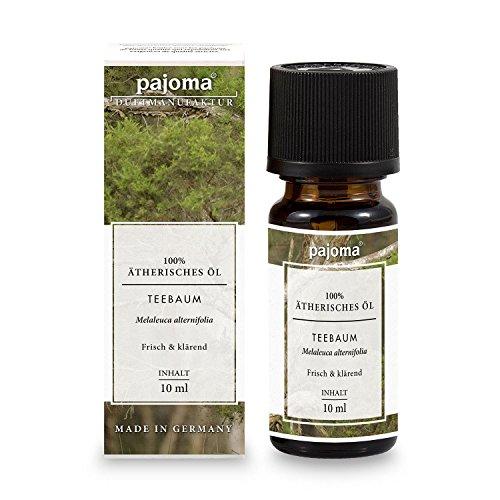 pajoma Teebaum Öl, ätherisch, 100% naturrein, 10 ml